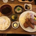 えびす食堂 - 料理写真:日替り定食(チキンカツ) @900