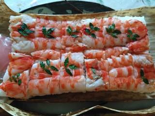 檜垣 - 海老箱寿司です♪