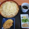 本手打ちうどん 空 - 料理写真:ざるうどん+鶏天