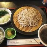 むつみ庵 - 料理写真:旨汁そば+山椒めし