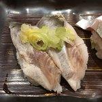 廻転寿司 CHOJIRO - 〆イワシ