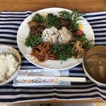 ガーデンカフェ&デリカ キモト - 焼肉プレート