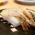 もりもり寿司 - 料理写真:がすエビ