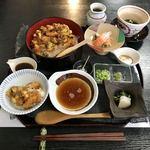 あじづくし菜生 - 天まぶし 1500円
