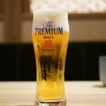 東京 壽 - ランチビール