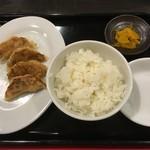 寳龍 - ギョーザセット ※魚介豚コク醤油+ギョーザセット