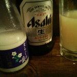 まんてん - 関西では定番?のマッコリ&ビール