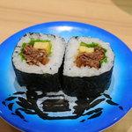 回転寿司 若竹丸 - カルビ巻
