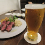 炭火焼赤身肉とクラフトビール ヴァベーネ - 湘南ビールIPA 熊澤醸造