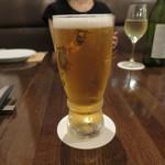 炭火焼赤身肉とクラフトビール ヴァベーネ - コシヒカリラガー 御殿場高原ビール