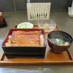 鰻 若松 - うな重松(4,400円)