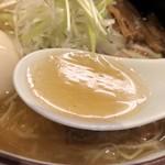93301962 - 2018.9.4  全部入り和塩らぁ麺〜透き通るスープ
