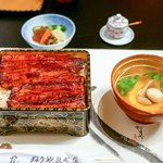 ぬりや - ■鰻重(上)5400円
