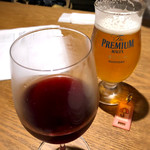 ふうびとすうろ - 赤ワイン&生ビール