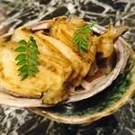 魚貝三昧 げん屋 - 煮鮑肝和え
