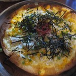カフェ 坂の下 - しらすピザ
