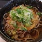 今庄そば - 天ぷら蕎麦