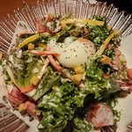 個室地鶏酒場 御蔵 - シーザーサラダ