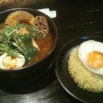 RAMAI - 揚げ豆腐のスープカレー!