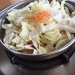 まつや - 豚野菜