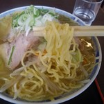 奥村そばや - 麺アップ