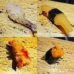 藤もと - 車海老、数の子、うに、赤貝