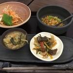 物味遊山 - 料理写真:前菜4種盛り