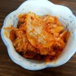 立ち呑み 粋 - 白菜キムチ:100円