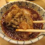 天ぷらめし 金子半之助 - 舞茸を天つゆで