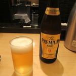 天ぷらめし 金子半之助 - 瓶ビール