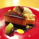 ファニエンテ - 大人のプリン、チーズケーキ、ズコット、紅茶のジェラード。その日のデザートを全部盛りで。