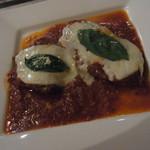 9332038 - 牛肉のソテー、ピッツァ職人風