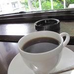 こんぱる 本店 - ブレンドコーヒー450円。