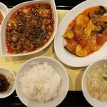 chuugokusaife-vu - 週替わりメイン1品に、3品から選べるセレクト1品、合計2品のメインが楽しめるセレクト中華ランチ900円