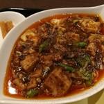 chuugokusaife-vu - ベースに白湯スープを使い、豆鼓のコクや花椒の風味が活きた程よい辛さの麻婆豆腐