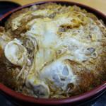 松美食堂 - 料理写真:玉子とじソースカツ丼(750円)