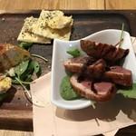 オマール海老&ラクレットチーズ 魚×肉バル オマール -