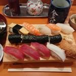 金太楼鮨 - にぎり1.5人前 ¥900-