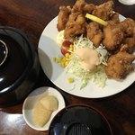 鶏の伊藤 - 骨なしザンギ定食