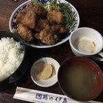 鶏の伊藤 - 甘酢ザンギ定食