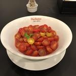 黄金の塩らぁ麺 ドゥエイタリアン - 冷製トマトコレクション