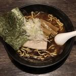 節骨麺 たいぞう - 節骨らーめん+卵黄漬け飯 ¥800 の節骨らーめん