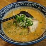 らぁめん みそ家 - 味噌つけ麺のスープ