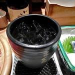 熊襲亭 - 芋焼酎の水割り
