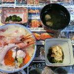 Taikoushouten - ちょこっと海幸丼。