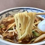 93332563 - ねぎラーメン 麺リフト