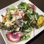 渋谷 Kairi - セットのサラダ