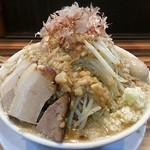 ラーメンつけ麺 笑福 - 【ラーメン 並盛 + 味玉】¥750 + ¥100