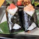 おにぎり茶屋 ちかちゃん - 料理写真:すじこ&鮭
