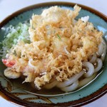 さぬきうどん - 料理写真:天ぷらうどん